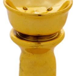 Glossy Clay Hookah Bowl