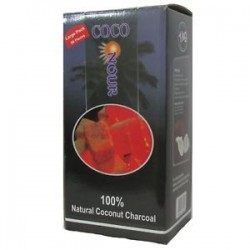 Nour Coco Larger Cube Hookah Charcoal 72 Pcs