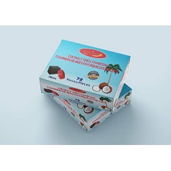 Starlight Coconut Shell charcoal Cubes 72 pc