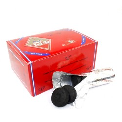 Three Kings Hookah Charcoal Box 33mm 100 Pieces