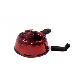 Hookah Bowl Heat Management System - Red