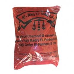 El-Wady El-Gdid Charcoal 1 Kilo 100% Natural