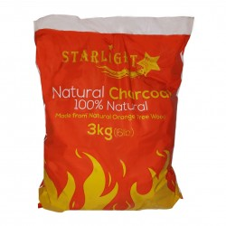 Starlight Natural Charcoal 6.6 lb 100% Natural