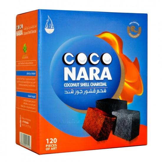 Coco Nara Natural Hookah Coals (120 FLAT Pieces)