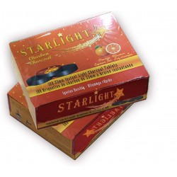 Starlight Charcoal, 33mm Instant Light Charcoal Tablets (Orange)