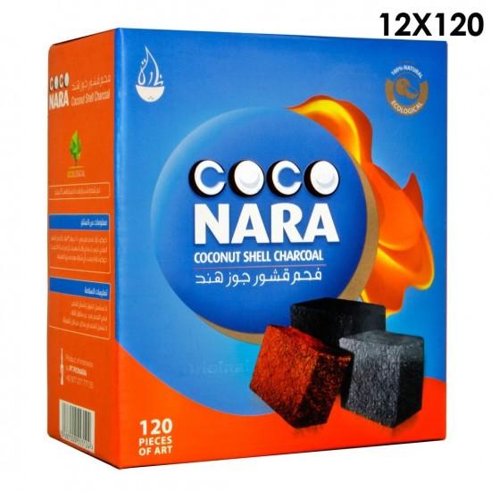 Coco Nara Natural Hookah Coals Large: 12x120 piece.