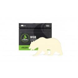 Fumari White Gummy Bear 100 Gram