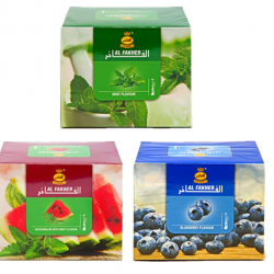 3 Pack Al Fakher Shisha Molasses Tobacco Hookah Water Pipe