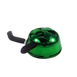 hookah charcoal holder green Color